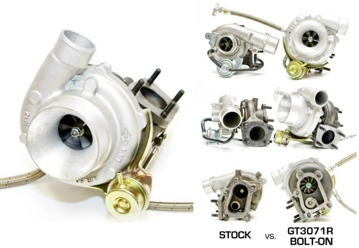 Garrett GT3071R Turbo Up-Grade Kit - Mazdaspeed 3