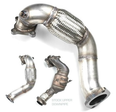 "3"" Stainless Steel Upper Downpipe for Mazdaspeed 3"