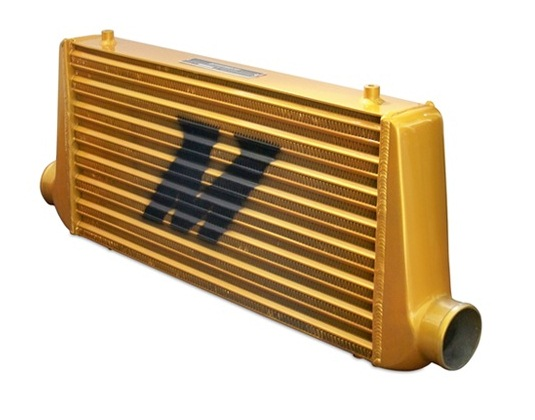 "Mishimoto ESR Intercooler M Line - 31"" x 11.75"" x 3"" All Gold"