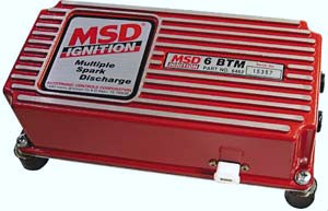 MSD 6BTM Electronic CDI w/Built-in Boost Control And Rev Limiter