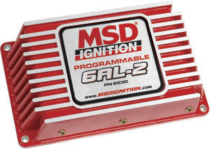MSD Digital Programmable 6AL-2 w/Rev Limit Electronic CDI