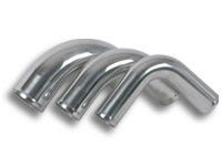 "2.00"" 90 Degree Pipe - Polished Aluminum"