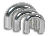 "2.00"" U Bend Pipe - Polished Aluminum"