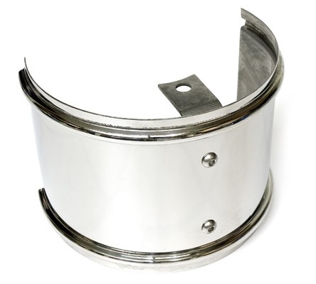 Garrett Stainless Turbo Heat Shield - Polished