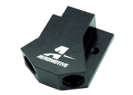 "Aeromotive High Flow ""Y"" Block, Black Anodized"