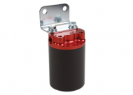"Aeromotive 100Micron 3/8"" NPT Red/black Canister Fuel Filter"