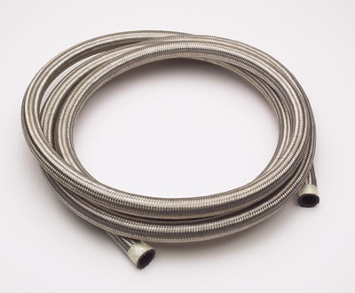 -4 Stainless Steel Braided Hose - High Pressure