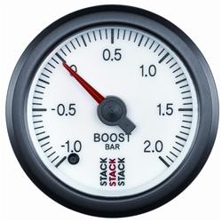 Stack Professional Stepper Motor Analogue Boost Pressure Gauge