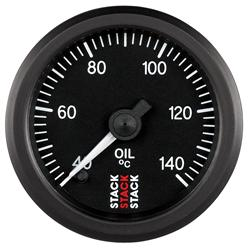 Stack Professional Stepper Motor Analogue OIL Temperature Gauge