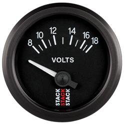 Stack Electronic Battery Voltage Gauge