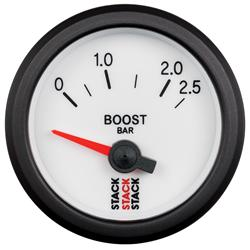 Stack Electrical Boost Pressure Gauge