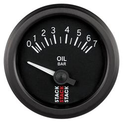 Stack Electrical Oil Pressure Gauge