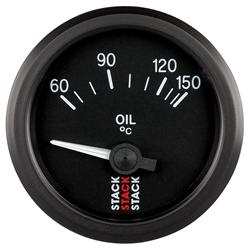 Stack Electrical OIL Temperature Gauge
