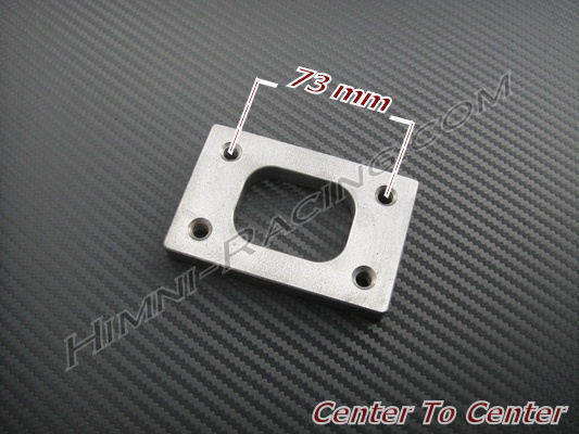 T25/T28/GT25/GT28 Turbo/Manifold Inlet Flange - Stainless Steel