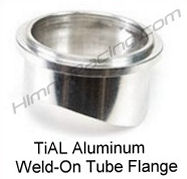 TiAL Blow Off Valve Mounting Flange, 50mm Q, QR ALUMINUM