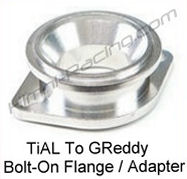 HR TiAL To GReddy Blow Off Valve, BOV Adapter Flange