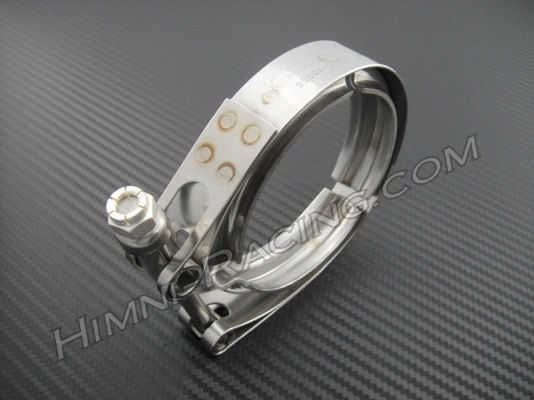 "4"" V-Band Turbo Exhaust Clamp 4.75"" OD - Stainless Steel"